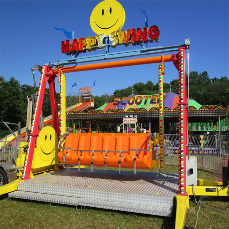 Kids happy swing ride