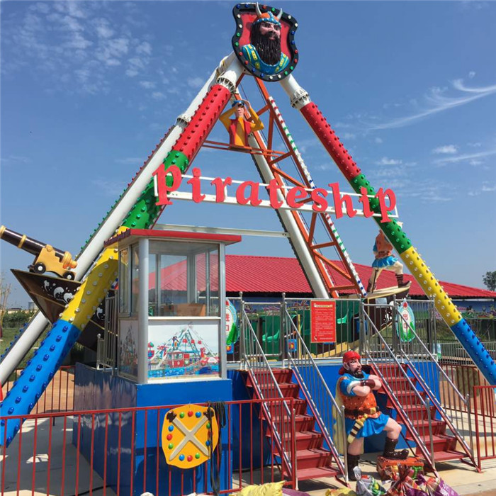 Pirate ship fairground ride